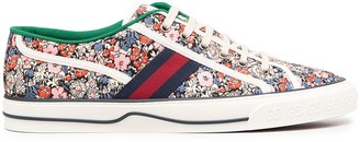 Gucci floral Tennis 1977 sneakers