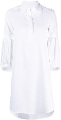 Dondup Step-Hem Shirt Dress