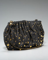 Belle Studded Nappa Clutch