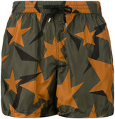 Nos Beachwear - stars print swim shorts - men - Polyamide - XL