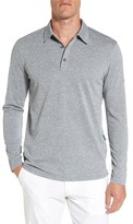 AG Jeans Men's Hamden Long Sleeve Polo