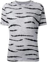 Zoe Karssen tiger print T-shirt - women - Spandex/Elastane/Lyocell - XS