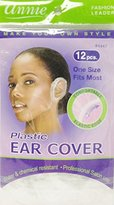 Annie Plastic Ear Cover 24 Pcs One Size Fits Most #4447