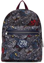 Kenzo Blue Flying Tiger Backpack