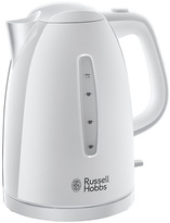 Russell Hobbs Textures White Electric Jug Kettle 21270