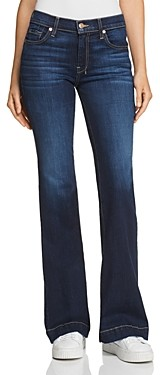7 For All Mankind Dojo Flared Jeans in B(air) Authentic Fate