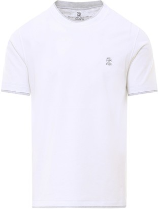 Brunello Cucinelli Layered Crewneck T-Shirt