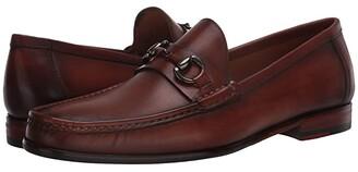 Massimo Matteo Almansa Moccasin Bit (Castano) Men's Shoes