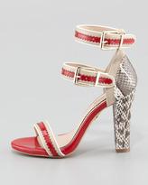 Pour La Victoire Veronica Ankle-Wrap Sandal