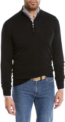 Peter Millar Men's Crown Soft Half-Zip Sweater
