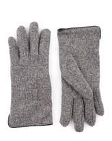 Jaeger Mouline Knitted Gloves
