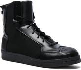 Yohji Yamamoto Neoprene Punk Superstar Sneakers