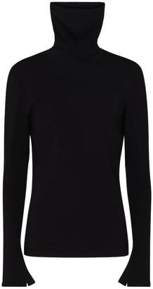 Balenciaga Stretch-knit turtleneck sweater