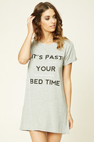 Forever 21 Bed Time Graphic Nightdress