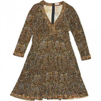 Issa Yellow Silk Dresses