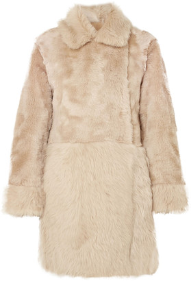 Agnona Reversible Shearling Coat