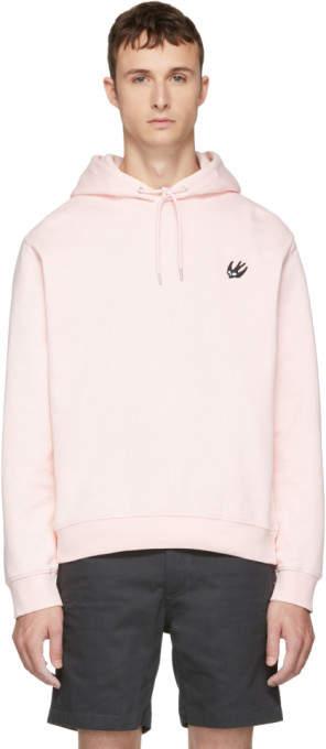 McQ Pink Clean Hoodie