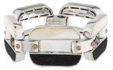 Henri Bendel Mother Of Pearl Link Bracelet