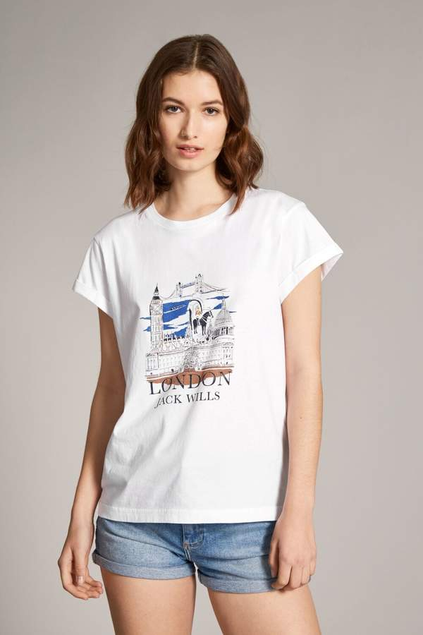 b7241a993 Jack Wills White Tops For Women - ShopStyle UK