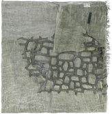 Cutuli Cult embroidered scarf