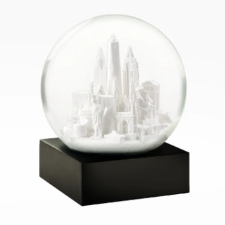 Cool Snow Globe - White NYC Snow Globe