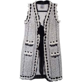 Chanel White Cotton Jackets