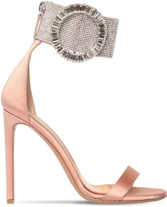 Alexandre Vauthier 100mm Joan Embellished Satin Sandals