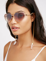 Free People Golden Heart Sunnies