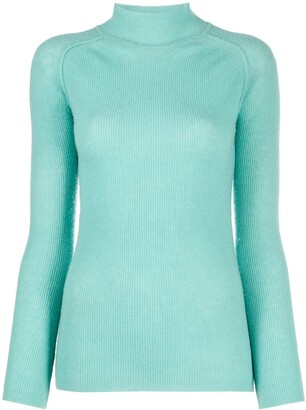 Forte Forte Roll-Neck Fitted Jumper