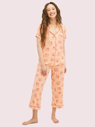 Kate Spade Falling Flower Long PJ Set
