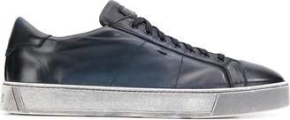 Santoni Ombre-Effect Low-Top Sneakers