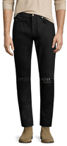 Cotton Studded Slim Jeans