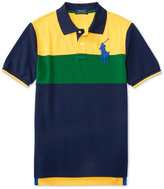 Ralph Lauren Little Boys' Bold Striped Colorblocked Polo