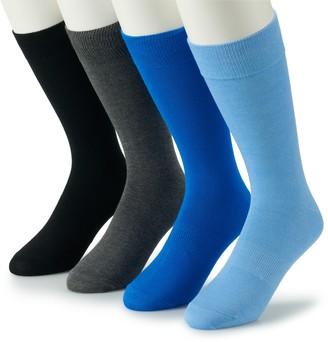 Croft & Barrow Men's 4-pack Opticool Socks