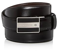 Montblanc Men's Classic Line Meisterstuck Reversible Leather Belt