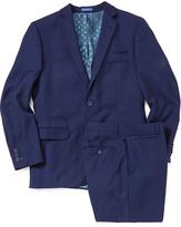 English Laundry Blue Wool Suit Jacket & Pants