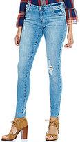 Celebrity Pink Vintage Destructed Skinny Ankle Jeans