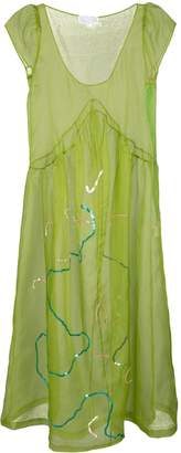 Collina Strada sheer midi dress