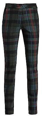 Chiara Boni Women's Petronilla Plaid Pants