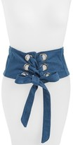 Cara Women's Denim Corset Belt