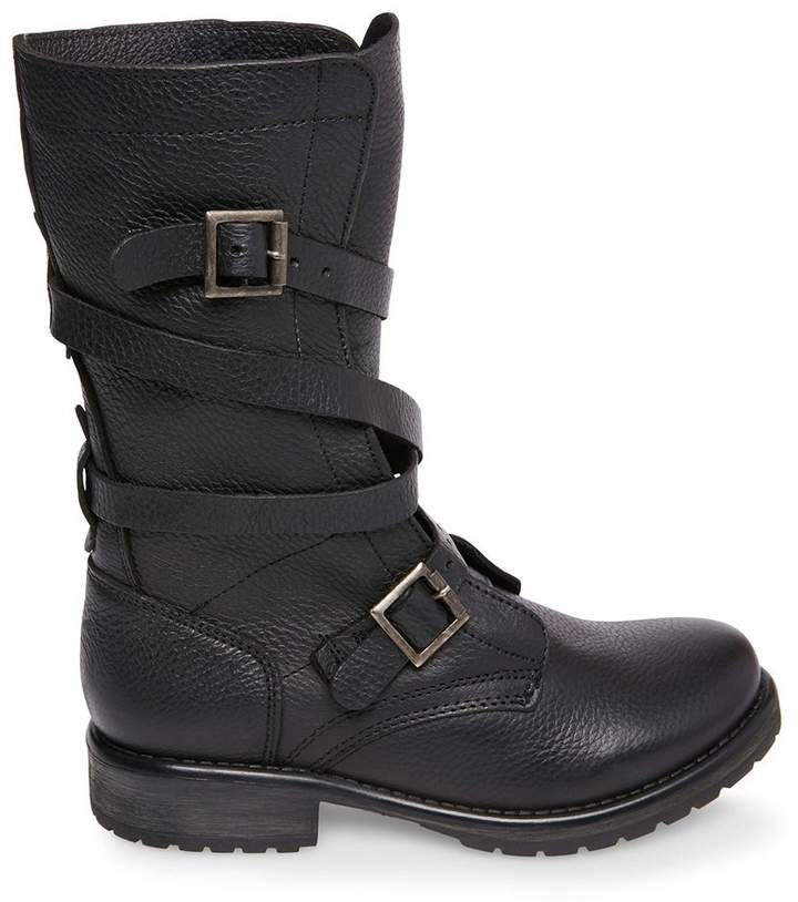 5dbc70371e6 Stevemadden BANDDIT BLACK LEATHER