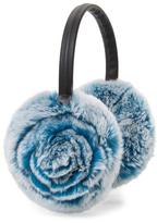 Adrienne Landau Rabbit Fur Earmuff