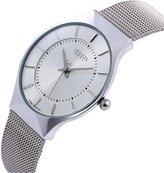 Julius JA-577 Male Men's -Tone Ultrathin Mesh Stainless Steel Strap Fashion Waterproof l Watch