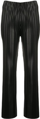 Nanushka Pleat straight-leg trousers