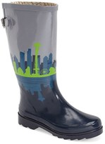 Chooka Women's 'Seattle Skyline' Rain Boot