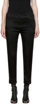 Haider Ackermann Black Elastic Waistband Lounge Pants