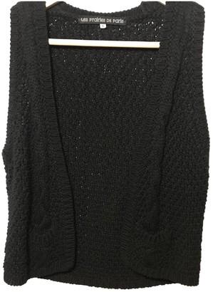Les Prairies de Paris Black Cotton Knitwear for Women