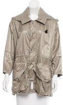 Hogan Hooded Long Sleeve Jacket w/ Tags