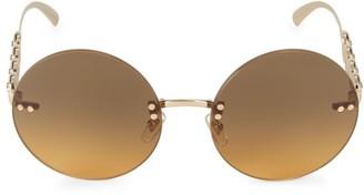 Versace 59MM Round Sunglasses