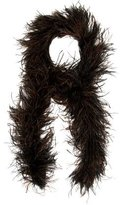 Adrienne Landau Ostrich Feather Scarf